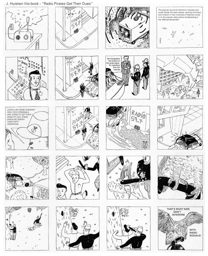 J. Huisken Visi-book #1